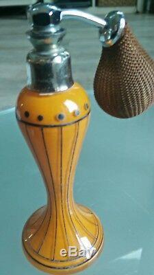 Vaporisateur parfum ancien art déco